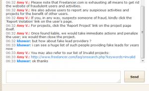 freelancer.com scam