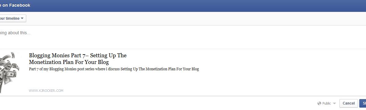 Blogging Monies Part 8- Blog Promotion Basics