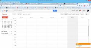 blogger schedule