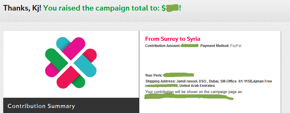 Charity Thursday – Help Syrian refugees