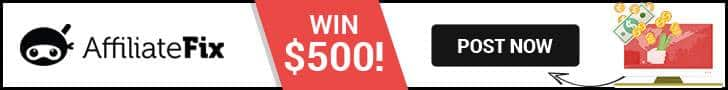 AffiliateFix is giving away $500 EVERY month! (Enter Now)