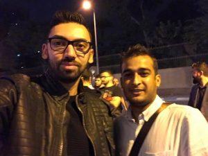 Selfie with Rohail Rizvi