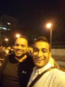 Selfie with Mustafa Patel